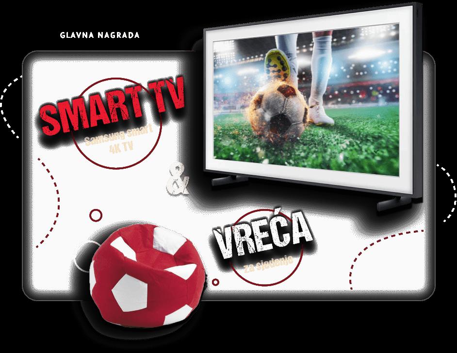 Osvoji Samsung Smart TV i vreću za sjedenje