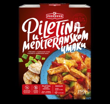 Piletina u mediteranskom umaku